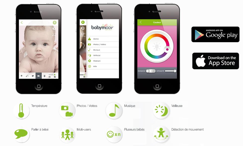 babyphone babymoov babycamera