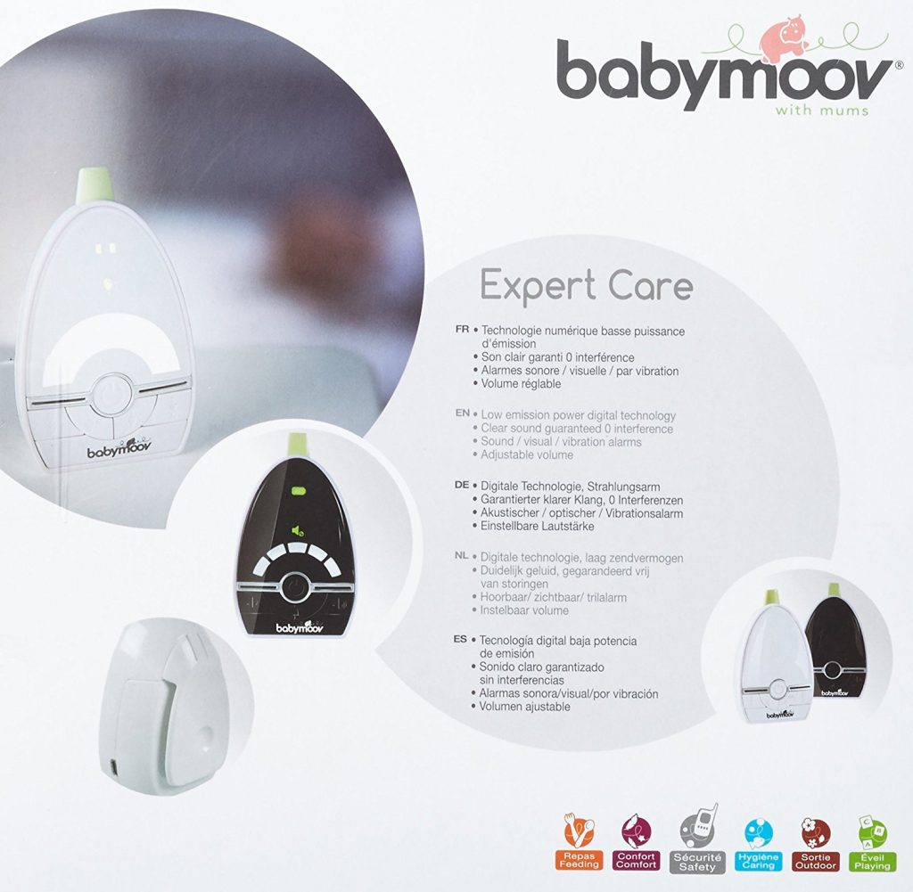 babyphone babymoov expert care notre test et avis. Black Bedroom Furniture Sets. Home Design Ideas