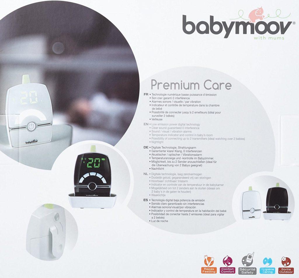 babyphone babymoov premium care test