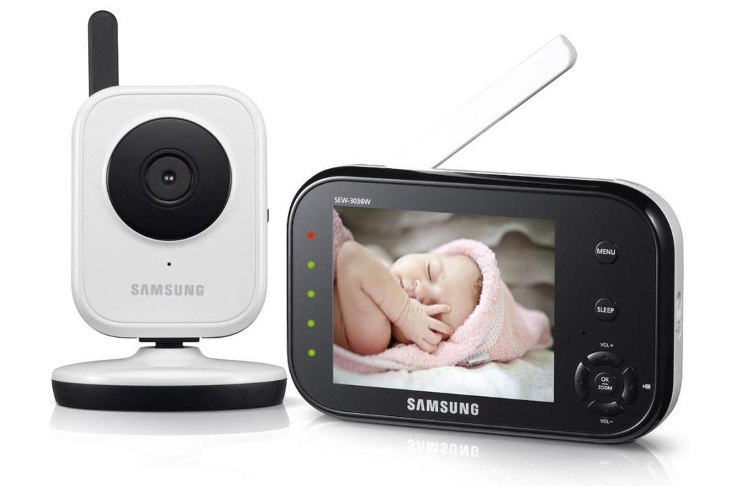 babyphone vidéo samsung sew-3036