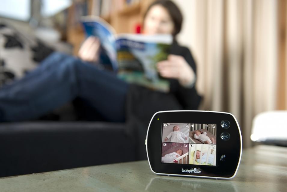 babyphone vidéo babymoov touch screen