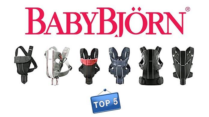 Porte Bébé Babybjorn Les 5 Meilleurs Modèles De La Marque Suédoise