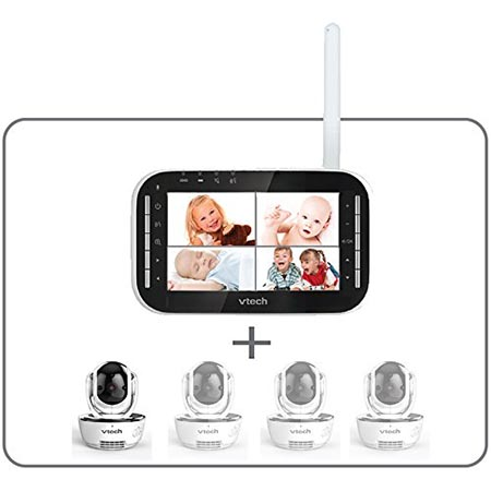 test babyphone vtech video vision xl bm4500