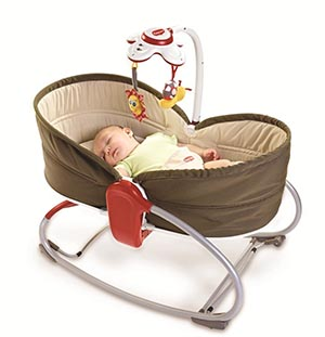 transat bébé tiny love rocker napper