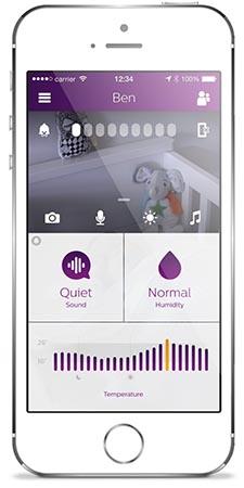 Babyphone Philips Avent SCD860 test