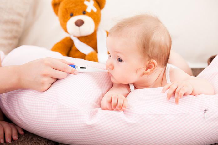 comment prendre la température d'un bébé