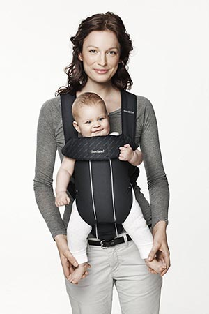 porte bébé ventral babybjorn