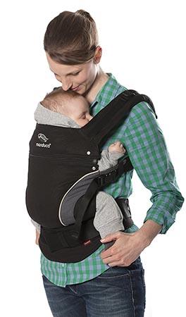porte bébé ventral manduca mans-bk