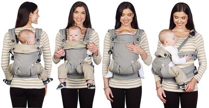 Porte bébé Ergobaby 360   Notre Test et Avis 53c1e960cc5