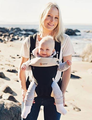 Porte Bébé Ergobaby Notre Test Et Avis - Porte bébé physiologique ergobaby