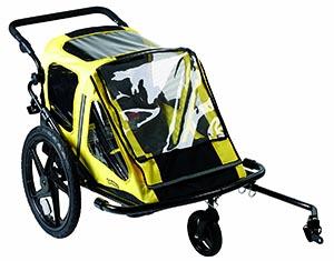 remorque vélo enfant Bumper Explorer Duo