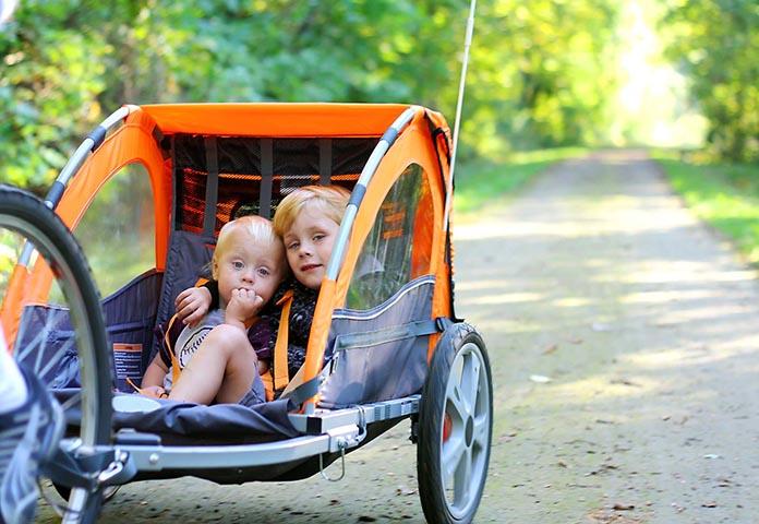 Les meilleures remorques vélo enfant en 2020
