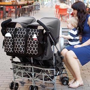 sac à langer pour jumeaux