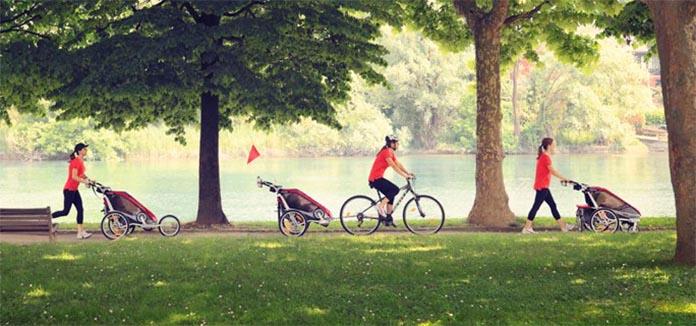 utilisation remorque vélo
