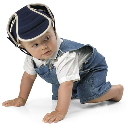 Orange IULONEE b/éb/é casque de protection pour enfant Chapeau infantile T/ête de protection Chapeau de coton pour enfant r/églable casque de s/écurit/é