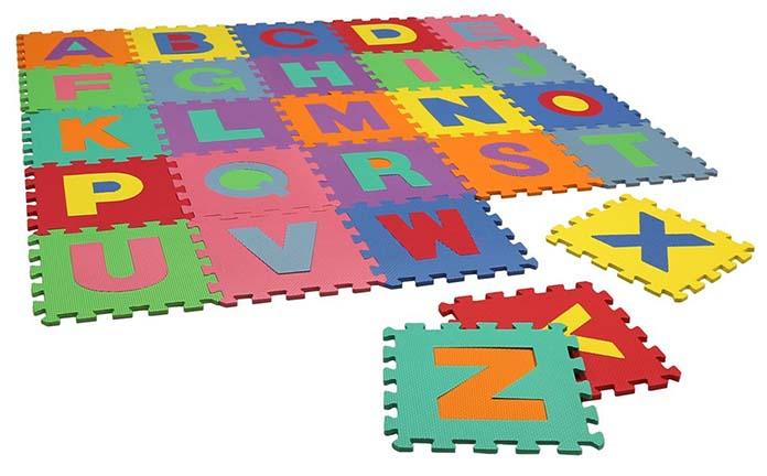 tapis mousse puzzle