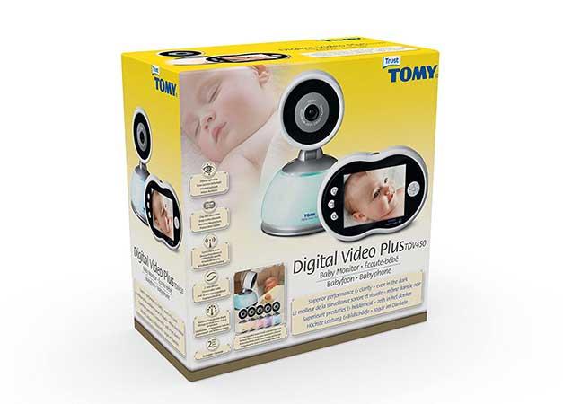 babyphone tomy tdv450 prix