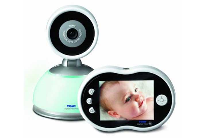 babyphone tomy tdv450 vidéo