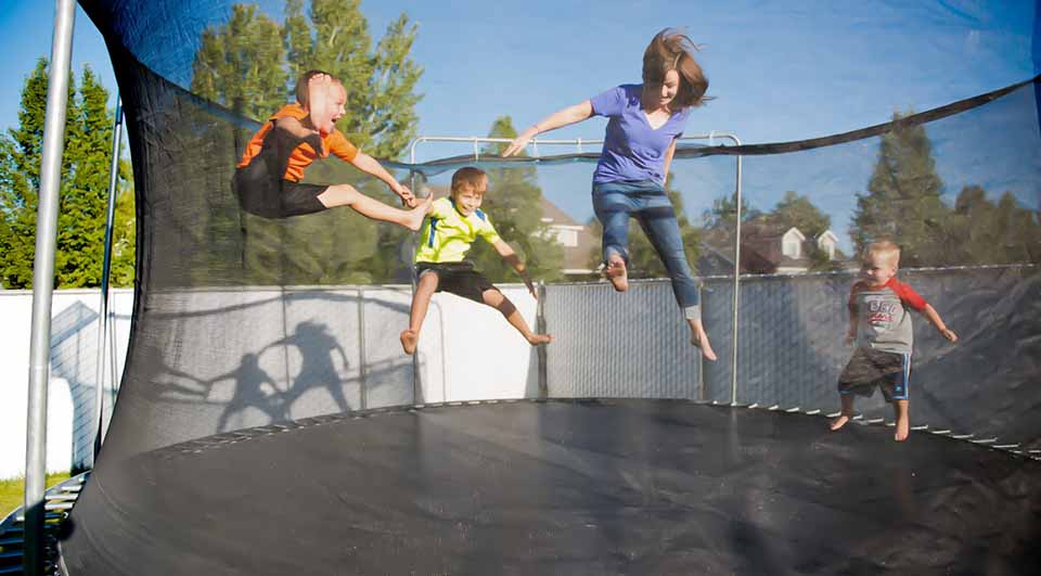 acheter trampoline enfant
