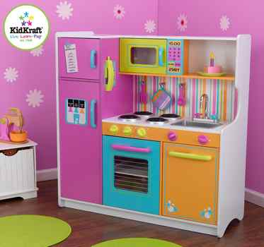 cuisine KidKraft Deluxe Big and Bright