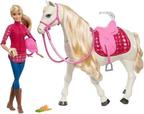 jouets noel 2017 - Barbie et Son Cheval de Rêve
