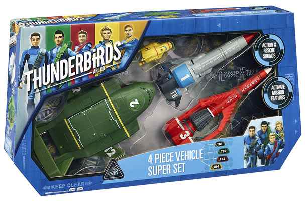 jouets noel 2017 - Figurines Thunderbirds Are Go