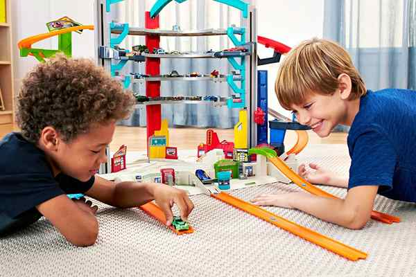 jouets noel 2017 - Hot Wheels Méga Garage
