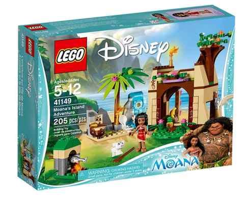 jouets noel 2017 - LEGO Disney Princess Le Voyage en Mer de Vaiana