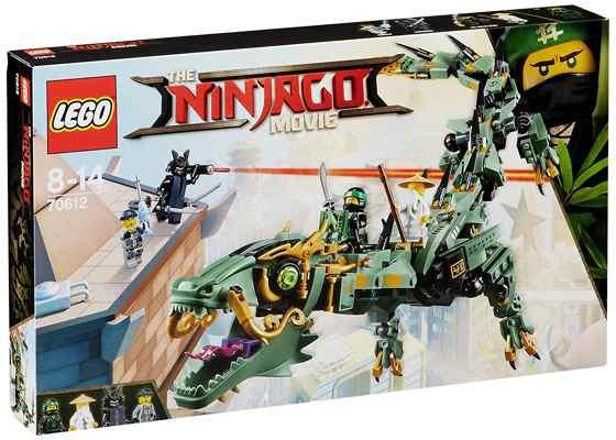 jouets noel 2017 - LEGO Ninjago Le Dragon d'acier de Lloyd