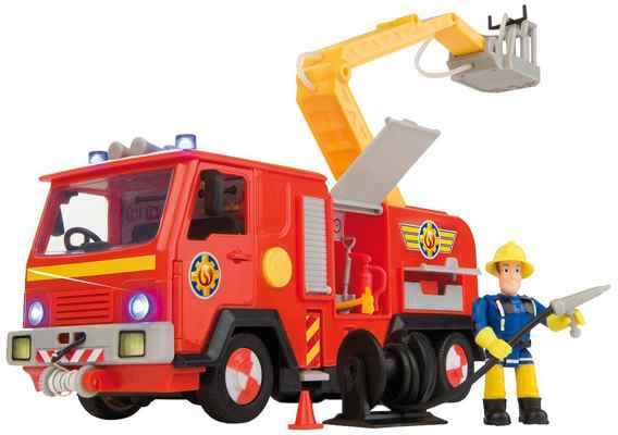 jouets noel 2017 - Le camion Jupiter de Sam le pompier