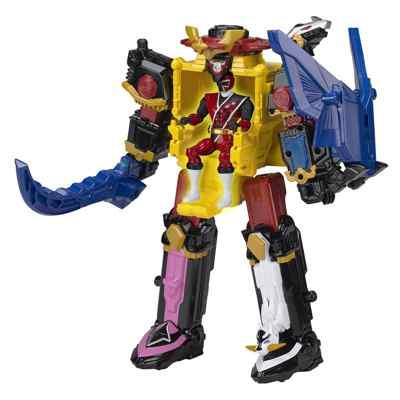 jouets noel 2017 - Megazord Ninja Steel Power Rangers