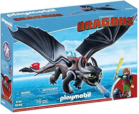 jouets noel 2017 - Playmobil Harold et le dragon Krokmou