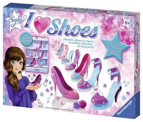 jouets noel 2017 - Ravensburger I Love Shoes So Styly
