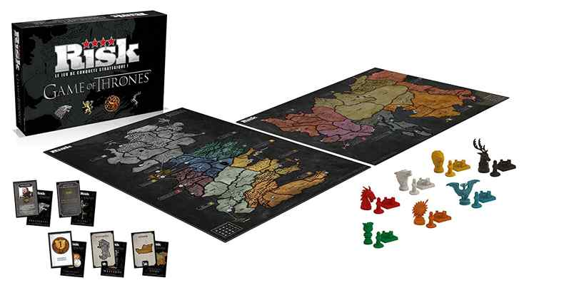 jouets noel 2017 - Winning Moves - Risk Game Of Thrones