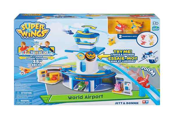 jouets noel 2017 - World Airport Super Wings