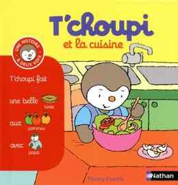 livre diversification alimentaire Tchoupi et la cuisine