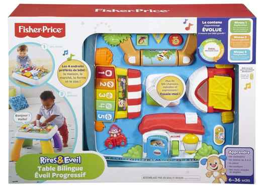 Table activite bebe Fisher-Price DPV20