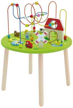 Table activite bebe Viga Toys Circuit de Motricite