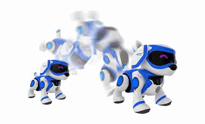 chien robot interactif teksta