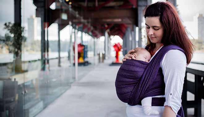 echarpe de portage porte bebe