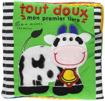 Livre tissu bebe - Tout doux - Mon premier livre