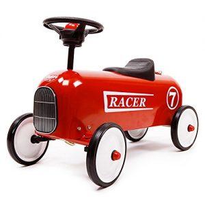 porteur bebe Baghera - 801 - Véhicule Pour Enfant - Racer - Rouge