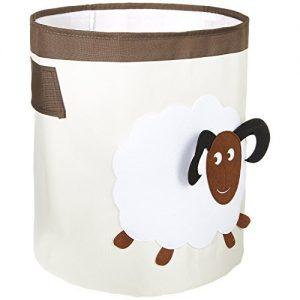 FABELBUNT® Grand caisse à jouets boite de rangement mouton