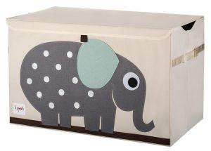 coffre a jouets 3 Sprouts éléphant