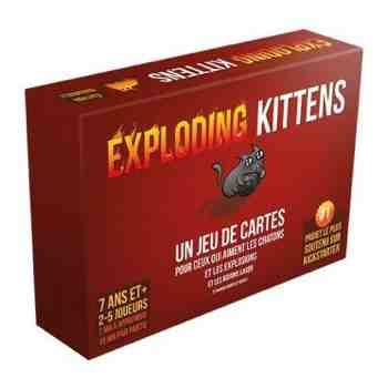 Cadeau garcon 12 ans - Exploding Kittens - Jeu de Cartes