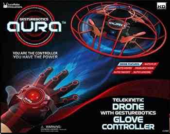 Cadeau garcon 12 ans - Taldec - C17800 - Radio Commandé - Aura Drone