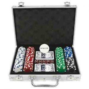 cadeau ado garcon - Ak Sport - 0603019 - Jeu De Cartes - Coffret De Poker
