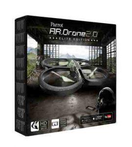 cadeau ado garcon - Parrot - Drone Quadricoptère AR.Drone 2.0 Elite Edition