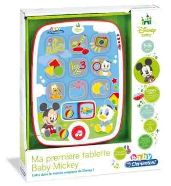 cadeau garcon 1 an - Clementoni - 62496 - Ma première Tablette Baby Mickey