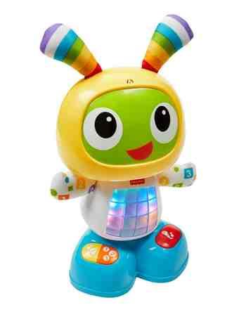 cadeau garcon 1 an - Fisher-Price - CGV44 - Bebo Le Robot - Jouet de Premier Age